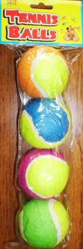 Pets Play Tennis Balls - 4 Pack