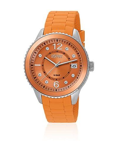Esprit Reloj de cuarzo Woman Naranja 40 mm