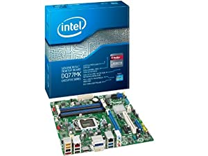 Intel Desktop Motherboard LGA1155 DDR3 1600 MicroATX - BOXDQ77MK
