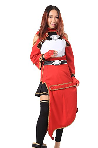 WS_COS Sword Art Online Beast Tamer Silica Ayano Keiko Ultimate Outfit Set Kid S