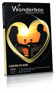 WONDERBOX - Coffret cadeau - LOISIRS EN DUO