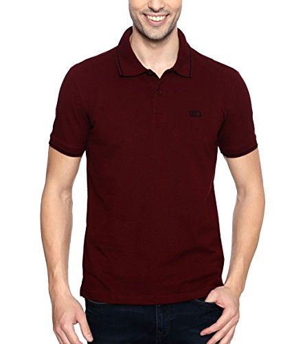 Ajile by Pantaloons Men's Half Sleeve Cotton Polo