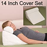 Cover for Deluxe Comfort 9-Inch Acid Reflux Wedge Pillow