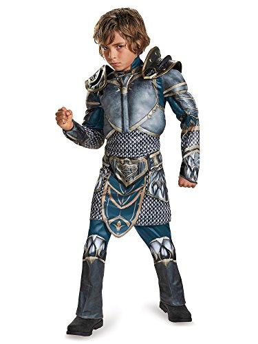 Lothar Classic Muscle Warcraft Legendary Halloween Costume