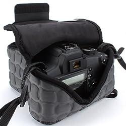 USA Gear dSLR Camera Case Holster Sleeve- Works with NIKON D7100 / D5200 / D5100 / D3200 / D3100 / D600 & More...