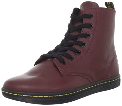 Dr martens women 39 s leyton boot shoes bags for Amazon dr martens