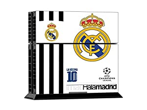 Sticker FC REAL MADRID Skin for Sony PlayStation 4 System: Video Games