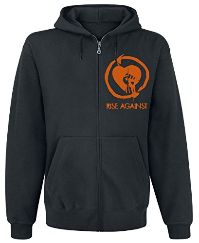 Rise Against Tiger Bomb Felpa jogging nero S