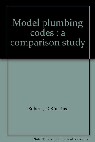 Model plumbing codes : a comparison study