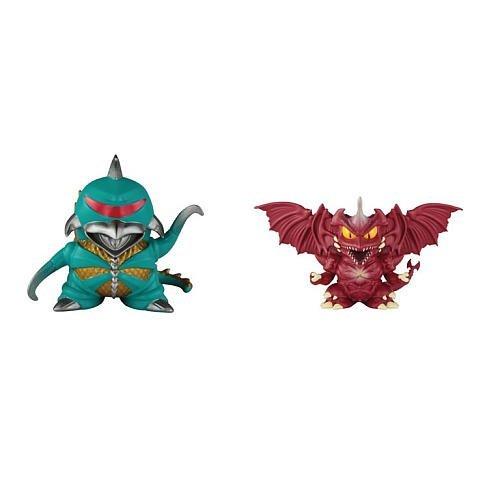 Godzilla Chibi Super Deformed Figures Gigan '72 and Destroyah '92, 2-Pack - 1