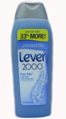 Lever 2000 Pure Rain Body Wash Cool & Replenishes, 24 Ounces (Pack of 6) (Pure Rain compare prices)