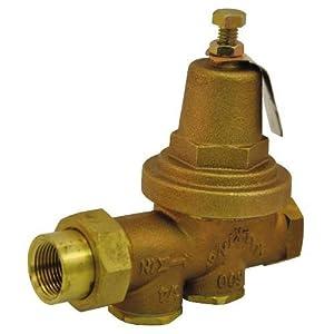 zurn 1 600 wilkins 600 series water pressure reducing valve bronze patio lawn. Black Bedroom Furniture Sets. Home Design Ideas