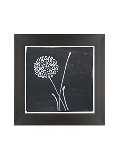 Filippo Ioco Chalkboard Blooms C Original Hand Painted Acrylic On Paper
