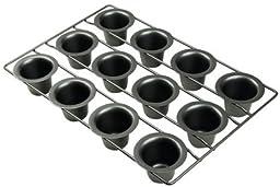 Amco 12-Cup Mini Popover Pan