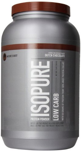Nature's Best Low Carb Isopure, Dutch Chocolate, 3 Lb