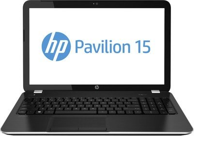 HP 15-f009wm Laptop PC ~ AMD Dual-Core Processor E1-2100 1.0GHz, 4GB, 500GB, 15.6