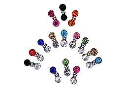 Sunaina Premium Collection Small Size Multicolor Bindis for Women [SPC543]