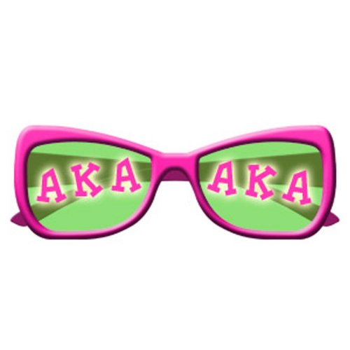Alpha Kappa Alpha Sunglasses Screen Printed T-Shirt Design