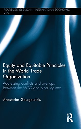Equity and Equitable Principles in the World Trade Organization: Addressing Conflicts and Overlaps between the WTO and Other Regimes (Routledge Research in International Economic Law)