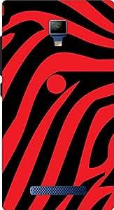 GTC PRINTED BACK COVER FOR Panasonic Eluga i2 ARTICLE-31434