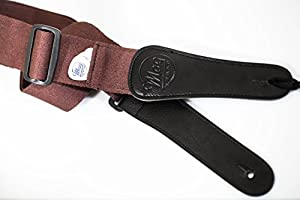 Magstrap: The Premium Guitar Strap for Acoustic, Classical and Electric Guitars, Cordovan