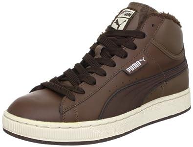 Puma Mid L Winter 349910, Unisex - Erwachsene Sportive Sneakers, Braun (carafe-demitasse brown 08), EU 37 (UK 4) (US 5)