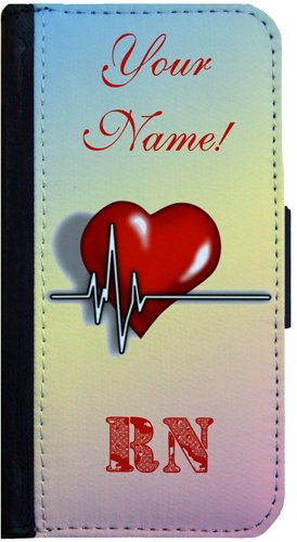 Customized-Nurse-RN-Design-Samsung-Galaxy-S4-Flip-Case-Samsung-Galaxy-S4-Flip-Cover-Flap-Case-Book-Style-Cover-Pocket-Case-Wallet-Cover-Bi-Fold-Case-PLEASE-DONT-FORGET-TO-GIVE-US-THE-NAME-TO-BE-PRINTE