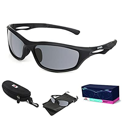 AFARER Polarized Sport Sunglasses for men women Outdoor Driving Fishing Cycling Running Golf with TR90 Unbreakable Frame