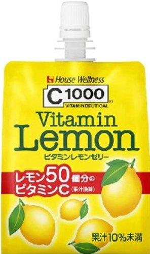 C1000 ビタミンレモンゼリー 180g×6個