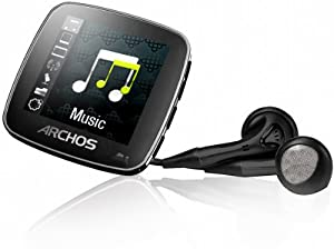 Archos 14 vision MP3-Player, 4GB, 3,7 cm (1.44 Zoll) Farb-Display, FM-Radio, Mikro