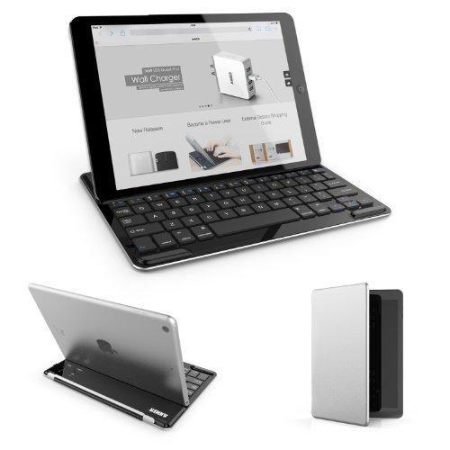 Anker iPad Air キーボードカバー ウルトスリムデザイン 大容量リチウムバッテリー内蔵 スタンド機能付き【18ヶ月保証】