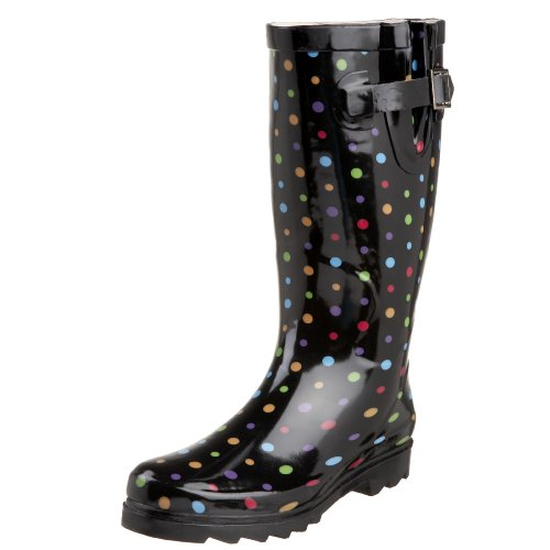 Western Chief Women's Ditsy Dots Rain Boot