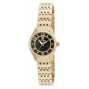 Invicta S. Coifman SC0344 24mm Gold Steel Bracelet & Case Mineral Women's Watch