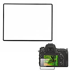 LARMOR GGS Self-Adhesive Optical Glass LCD Screen Protector for Nikon D750