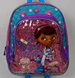 Disney Junior Doc McStuffins Toddler PreSchool 12 Mini Backpack - Boo Boos Be Gone