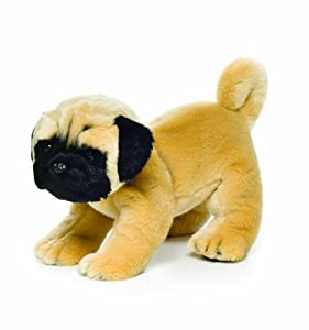 Nat and Jules Plush Toy, Pug, Large