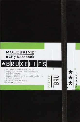 Moleskine City Notebook Bruxelles (Brussels)