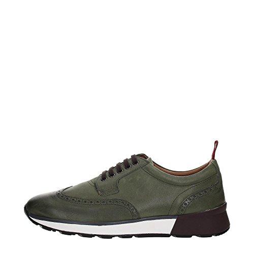 Soldini 20000-K-U72 Sneakers Uomo Pelle Verde Verde 39