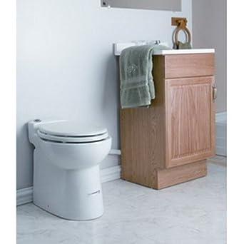 saniflo 003 upflush basement toilet bowl