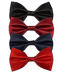 Greyon Multicolor 4 Bow Tie Combo (GNA005)