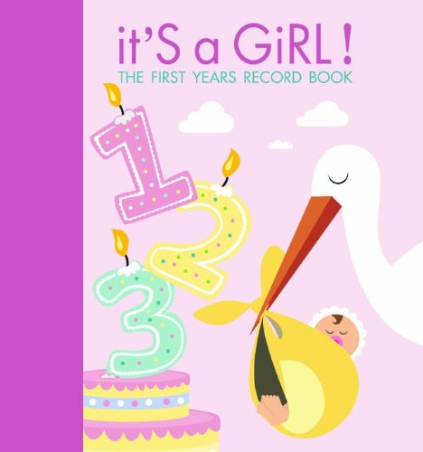 It'S A Girl!: The First Years Record Book front-878652
