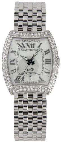 Bedat Co. Women's 314.031.990 No.3 Diamond Bracelet Watch