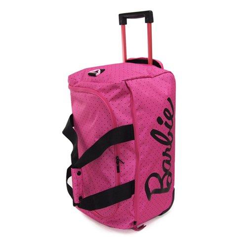 (バービー) Barbie ビーズ 2輪 ローリングボストン/スーツケース 48825 (ドット・ピンク(11))