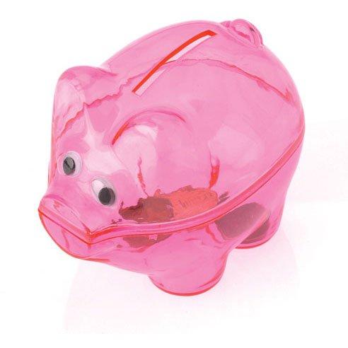 Pink Piggy Banks