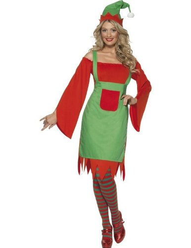 Adult Cute Elf Halloween Costume