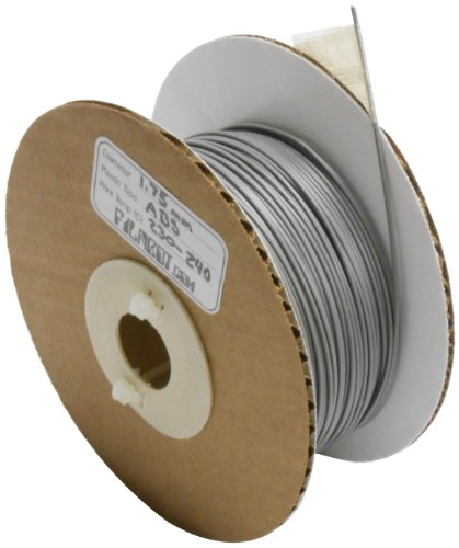 Filabot ABS Plastic 3D Printing Filament, 1.75 mm Diameter, Gray, 1 lb Spool