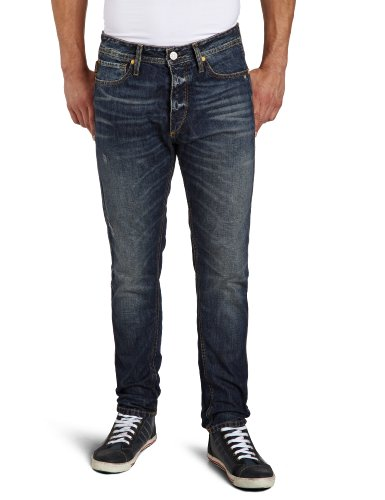 Jack and Jones Erik Original Loose Men's Jeans Blue W32INxL34IN