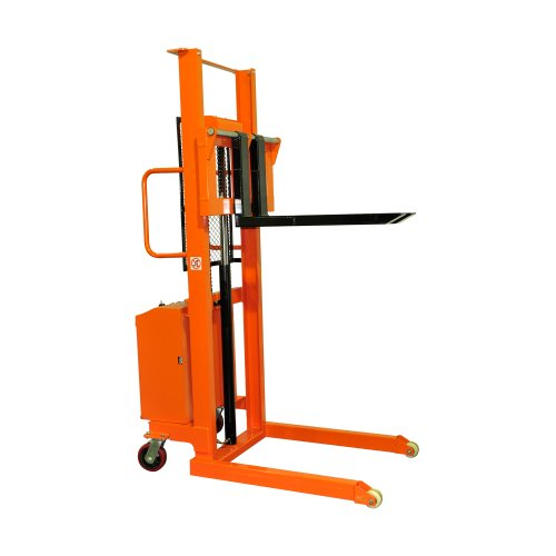 Bolton Tools New Electric Powered Hand Forklift Stacker - 2200 LB of Capacity - 63.0
