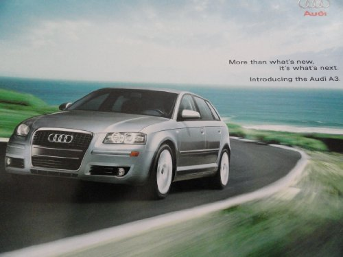 2006 Audi A3 Sales Brochure (2006 Audi A3 Owners Manual compare prices)