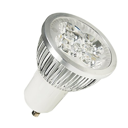 Lohas® Led Energy Saving Decoration Household Light Bulb Gu10 110-240V Cool White 4X3W (Equivalent To 45 Watt Incandescent) - Dimmable